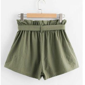 Vintage Shorts - Vintage High Waste Clothe Shorts